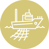 Commercial Fishing Vessel icon